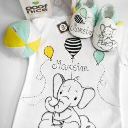 Slonče i baloni komplet